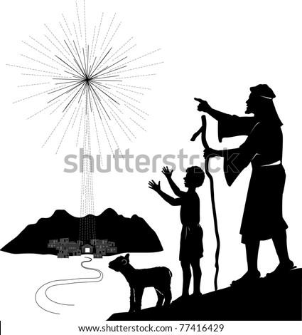christmas shepherds stock images royaltyfree images
