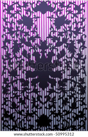 Vector silhouettes, background 41, vector illustration