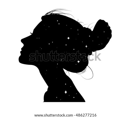 Silhouette Girl Stock Images Royalty Free Images