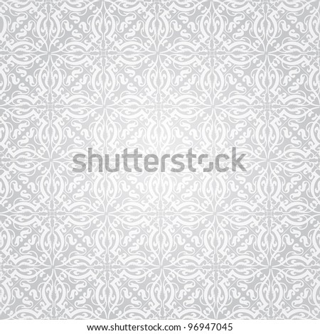 Vector silver background - stock vector