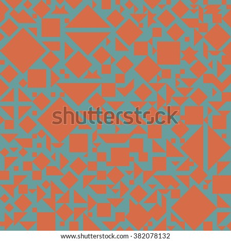 Vector simple abstract seamless geometry-based pattern.