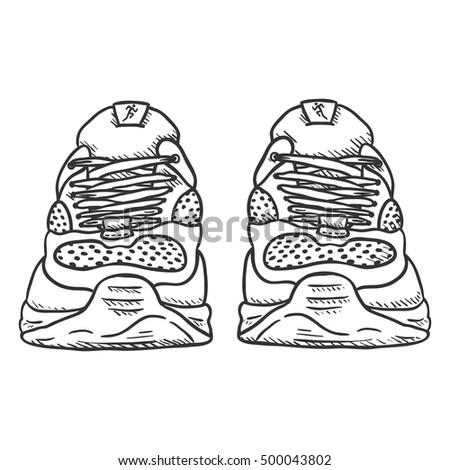 how to draw cartoon shoe