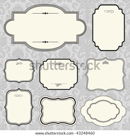 Vector Small Frame Set
