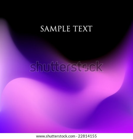 Vector Smooth Background Waves - stock vector