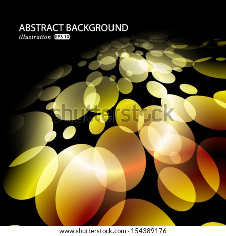 Vector soft glittery lights abstract Christmas background.
