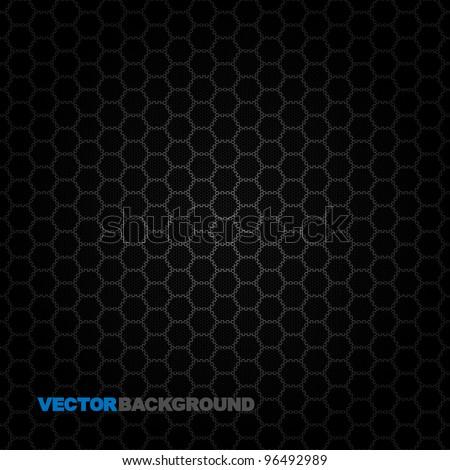 Vector Speaker Grille Texture. Illustration - Background - stock vector