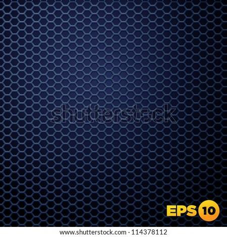Vector Speaker Grille Texture. Vector illustration EPS10. - stock vector
