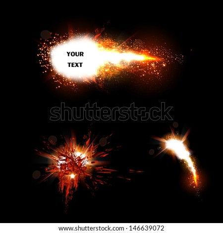 Vector Special Effects - stock vector