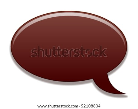 vector speech bubble