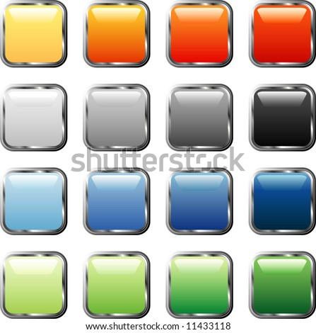 https://thumb9.shutterstock.com/display_pic_with_logo/92334/92334,1208016631,6/stock-vector-vector-square-buttons-with-silver-frame-11433118.jpg 3d