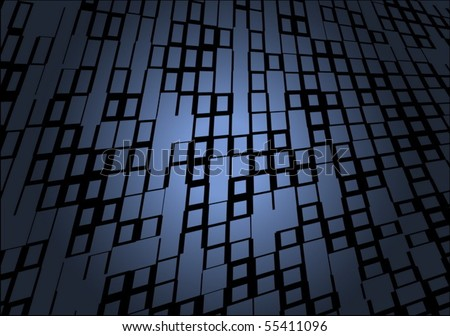 Vector squared abstract  surface