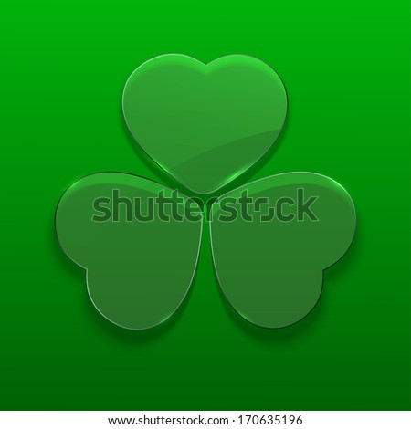Vector St. Patrick's Day background. Eps 10