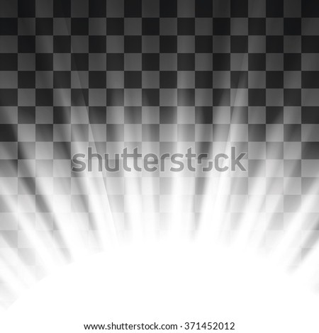 Vector Stage Spotlight Background