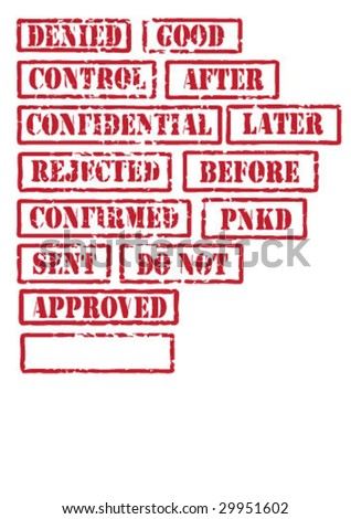 vector stamp series - to be continued grunge - stock vector