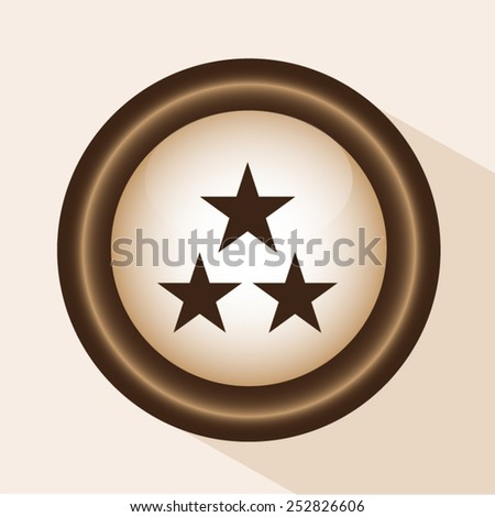 vector star - stock vector