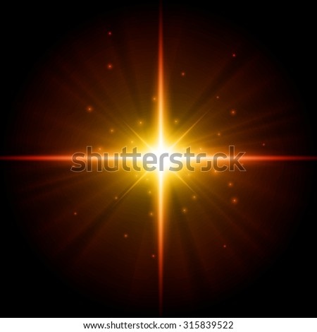 vector star illustration - stock vector