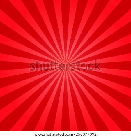 Vector starburst background.  - stock vector