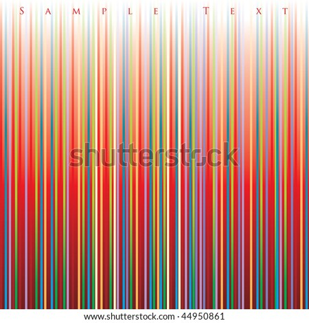 vector striped layout - stock vector