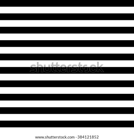 Vector Striped Seamless Pattern. Black and white background - stock vector