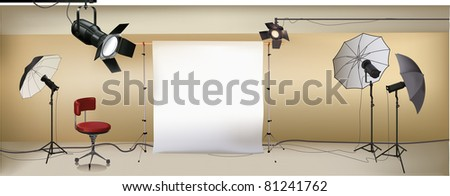 vector studio - stock vector