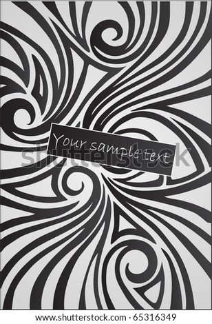 vector stylish background - stock vector