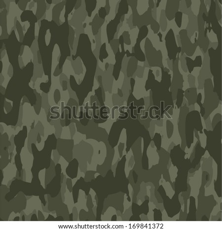 vector summer camouflage background pattern  - stock vector