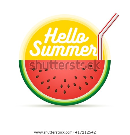 Vector Summer sun character design. Elements are layered separately in vector file. CMYK color mode. Print ready. - stock vector