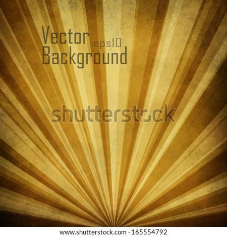 Vector Sunbeams Background. - stock vector