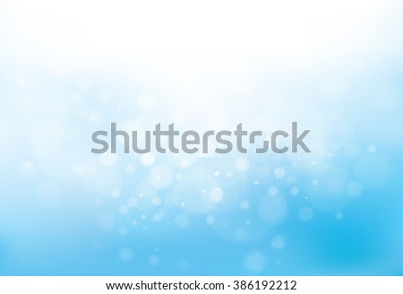 Vector sunshine blue sky background. - stock vector