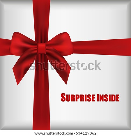 Vector Surprise Inside Open Gift Box Stock Vector 634129862 ...