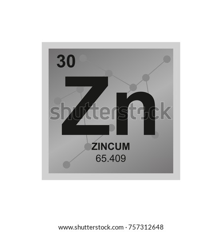 Zn Element Symbol - Clipart Library •