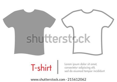 Vector t-shirts - stock vector