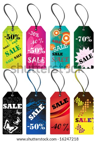 Vector tags.To see more design elements, please VISIT MY GALLERY