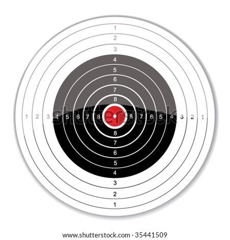 vector target - stock vector