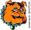 Vector Tattoo Bulldog - stock vector
