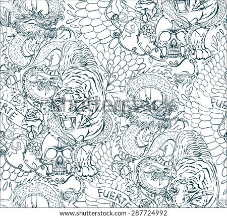 Tattoo Background Stock Images Royalty Free Images