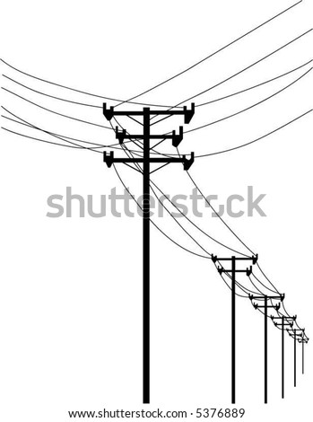 Telephone Wires Line Art Keyword Data