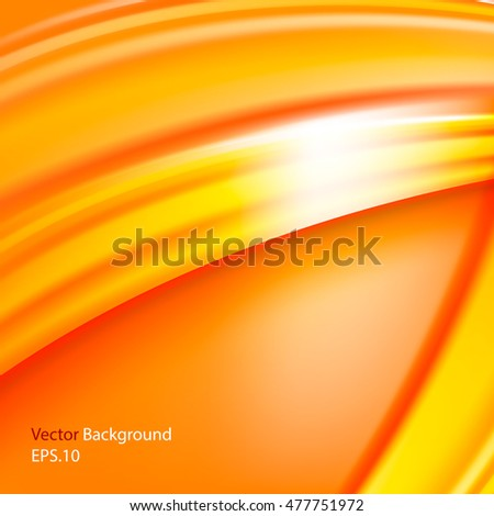 vector template abstract background with curves and lines for flyer brochure booklet and
