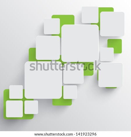 Vector template illustration - stock vector
