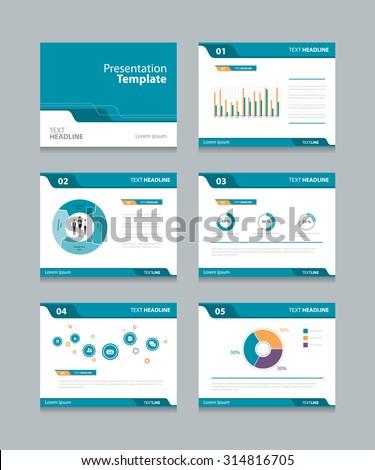vector template presentation slides background designinfo stock, Presentation templates