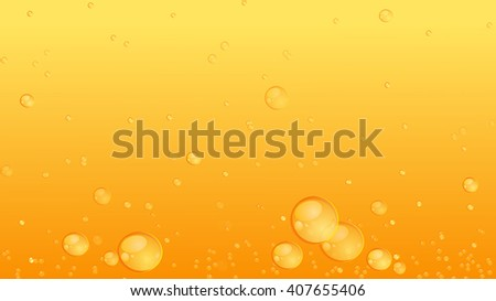 Vector texture. A delicious cold beer with bubbles background decoration wallpaper the walls. - stock vector