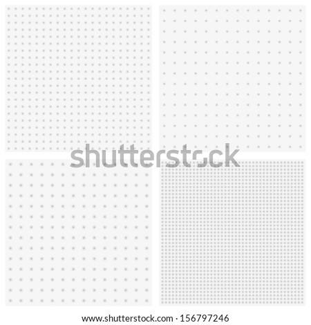 Vector texture of blurred gray dots - stock vector