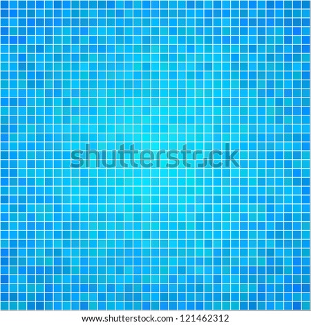 Vector texture of colorful mosaic. Vector illustration - stock vector