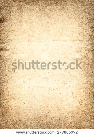vector texture of the old brown paper  - stock vector