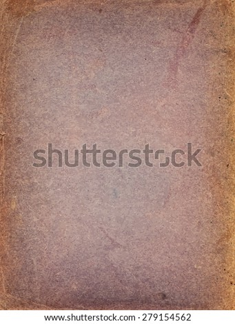 vector texture of the old purple paper background with faded brown edges - stock vector