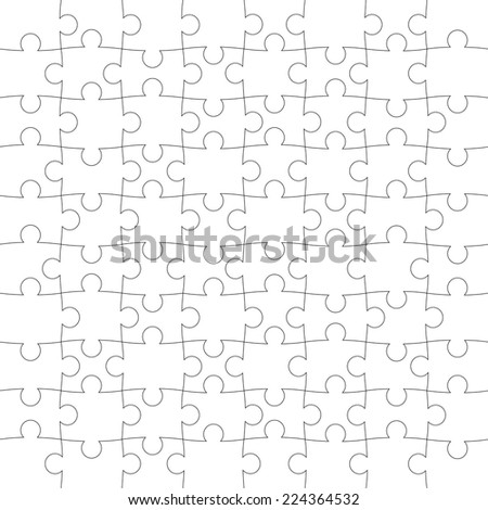 vector texture of the puzzle - stock vector