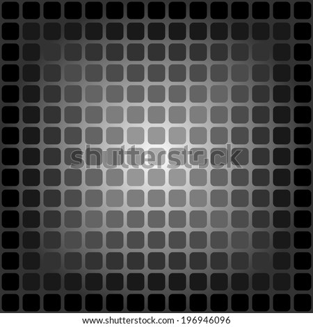 Vector texture (square gradient on a radial background)