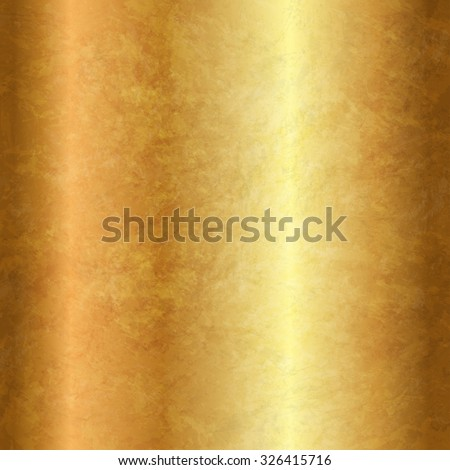 Vector textured gold background - stock vector