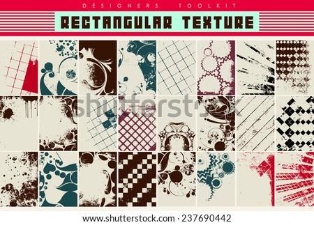 vector textures - stock vector