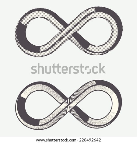 Vector - The classic infinity symbol.
